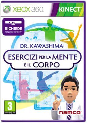 Copertina del gioco Dr Kawashima: Esercizi per Mente e Corpo per Xbox 360