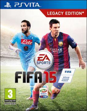 Immagine della copertina del gioco FIFA 15 per PSVITA