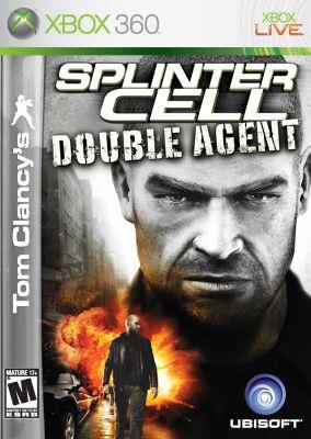 Copertina del gioco Tom Clancy's Splinter Cell Double Agent per Xbox 360