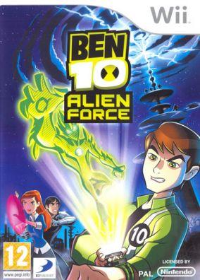 Immagine della copertina del gioco Ben 10: Alien Force - The Game per Nintendo Wii