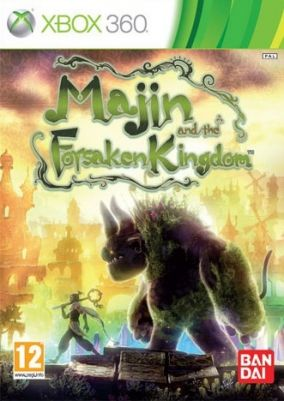 Copertina del gioco Majin and the Forsaken Kingdom per Xbox 360