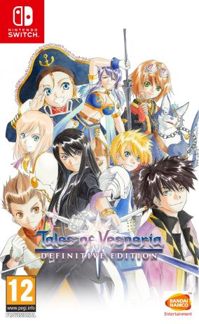 Copertina del gioco Tales of Vesperia: Definitive Edition per Nintendo Switch
