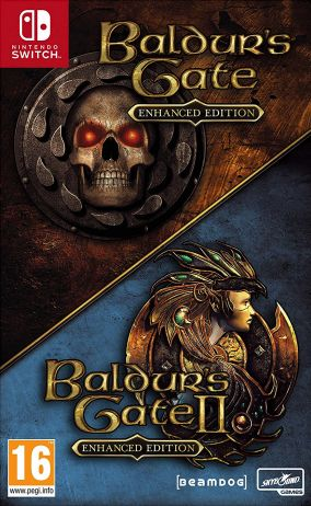 Immagine della copertina del gioco The Baldur's Gate: Enhanced Edition per Nintendo Switch
