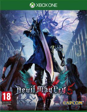 Immagine della copertina del gioco Devil May Cry 5 per Xbox One