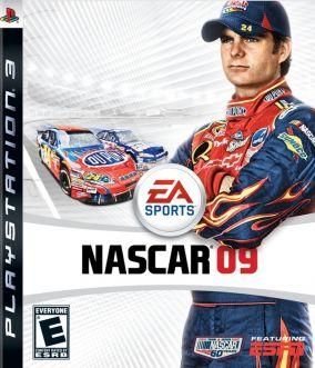 Copertina del gioco Nascar 09 per PlayStation 3
