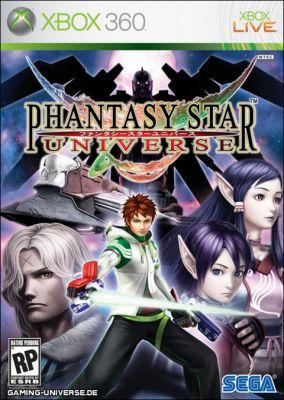 Copertina del gioco Phantasy Star Universe per Xbox 360