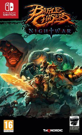 Immagine della copertina del gioco Battle Chasers: Nightwar per Nintendo Switch