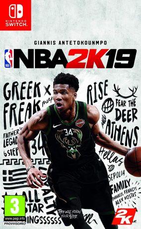 Immagine della copertina del gioco NBA 2K19 per Nintendo Switch