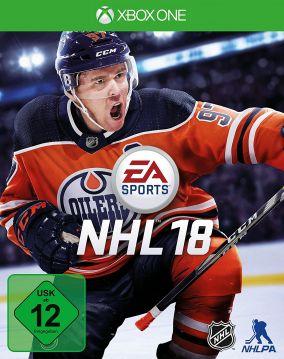 Copertina del gioco NHL 18 per Xbox One