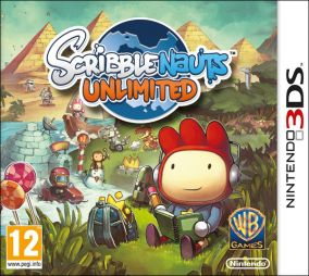 Immagine della copertina del gioco Scribblenauts Unlimited per Nintendo 3DS