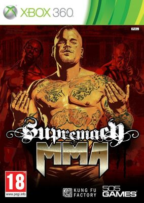 Copertina del gioco Supremacy MMA per Xbox 360