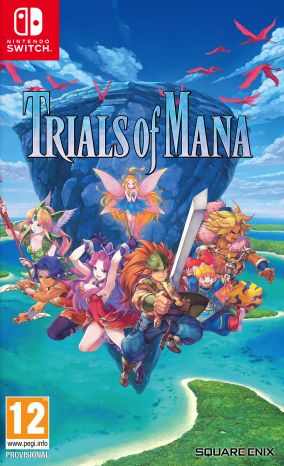 Copertina del gioco Trials of Mana per Nintendo Switch