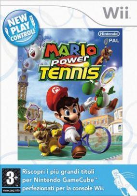 Immagine della copertina del gioco Mario Power Tennis per Nintendo Wii