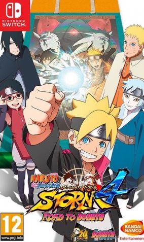 Immagine della copertina del gioco Naruto Shippuden Ultimate Ninja Storm 4: Road to Boruto  per Nintendo Switch