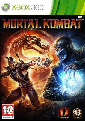 Copertina del gioco Mortal Kombat per Xbox 360