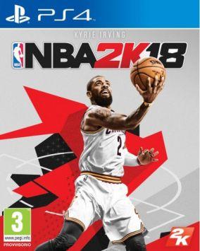 Immagine della copertina del gioco NBA 2K18 per PlayStation 4
