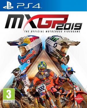 Copertina del gioco MXGP 2019: The Official Motocross Videogame per PlayStation 4