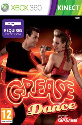 Copertina del gioco Grease Dance per Xbox 360
