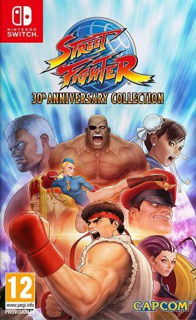 Copertina del gioco Street Fighter 30th Anniversary Collection per Nintendo Switch