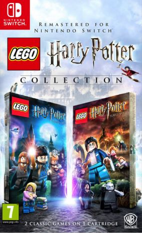 Copertina del gioco LEGO Harry Potter: Collection per Nintendo Switch