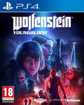 Immagine della copertina del gioco Wolfenstein: Youngblood per PlayStation 4