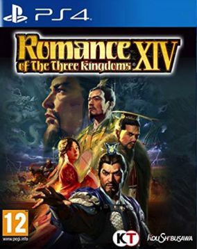 Copertina del gioco Romance of the Three Kingdoms XIV per PlayStation 4