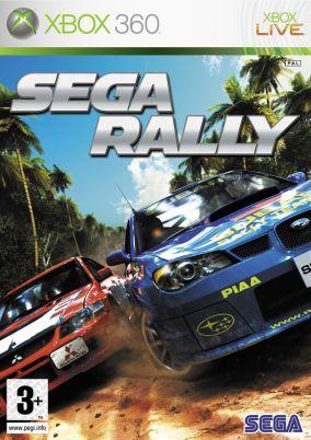 Copertina del gioco Sega Rally per Xbox 360