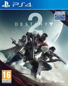 Immagine della copertina del gioco Destiny 2 per PlayStation 4