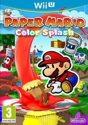 Copertina del gioco Paper Mario: Color Splash per Nintendo Wii U
