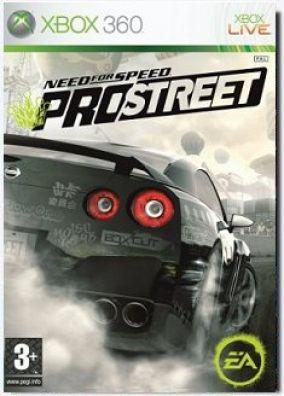 Copertina del gioco Need for Speed Pro Street per Xbox 360