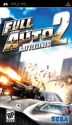 Immagine della copertina del gioco Full Auto 2: Battlelines per Playstation PSP