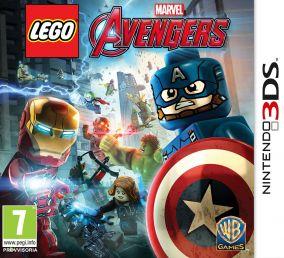 Copertina del gioco LEGO Marvel's Avengers per Nintendo 3DS