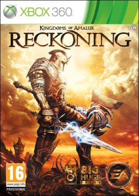 Copertina del gioco Kingdoms of Amalur: Reckoning per Xbox 360