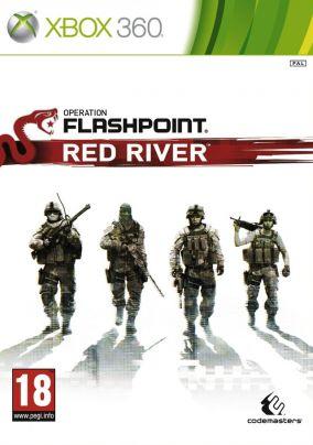 Copertina del gioco Operation Flashpoint: Red River per Xbox 360