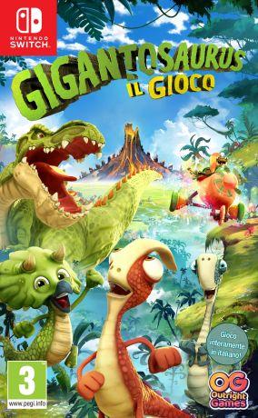 Immagine della copertina del gioco Gigantosaurus: Il Gioco per Nintendo Switch