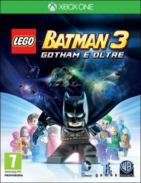 Immagine della copertina del gioco LEGO Batman 3: Gotham e Oltre per Xbox One