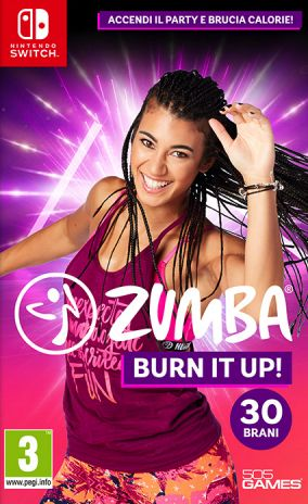 Copertina del gioco Zumba Burn it Up! per Nintendo Switch