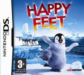 Immagine della copertina del gioco Happy Feet per Nintendo DS