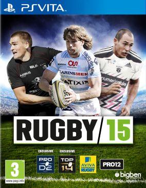 Copertina del gioco Rugby 15 per PSVITA