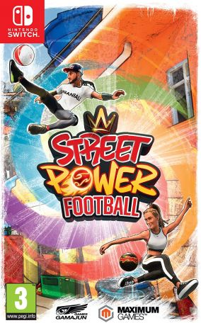 Copertina del gioco Street Power Football per Nintendo Switch