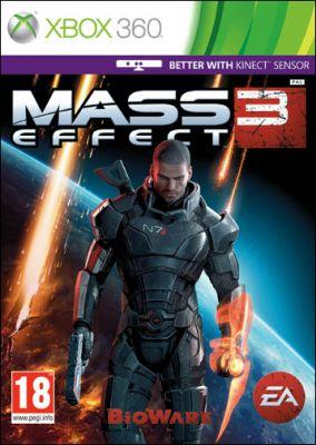 Copertina del gioco Mass Effect 3 per Xbox 360