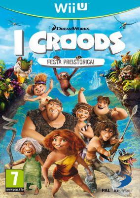 Immagine della copertina del gioco I Croods: Festa Preistorica per Nintendo Wii U