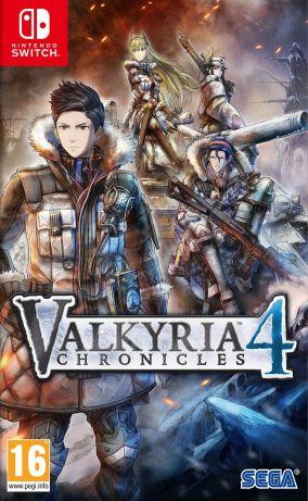 Immagine della copertina del gioco Valkyria Chronicles 4 per Nintendo Switch