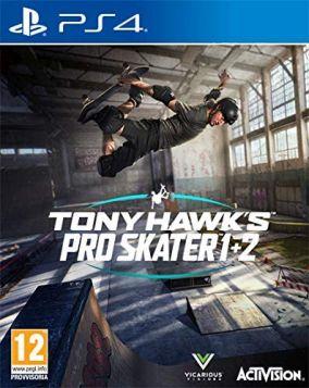 Immagine della copertina del gioco Tony Hawk's Pro Skater 1 e 2 per PlayStation 4