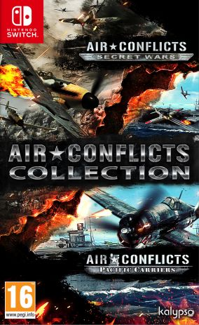 Copertina del gioco Air Conflicts Collection per Nintendo Switch