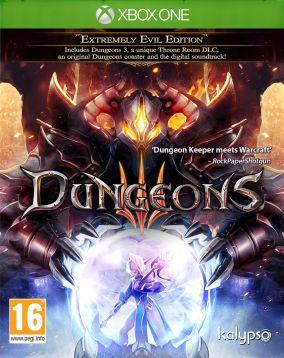 Immagine della copertina del gioco Dungeons 3 per Xbox One