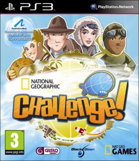 Copertina del gioco National Geographic Challenge! per PlayStation 3