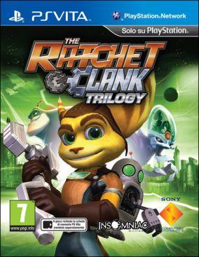 Copertina del gioco Ratchet & Clank Trilogy per PSVITA
