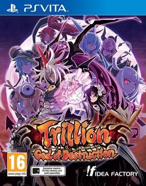 Copertina del gioco Trillion: God of Destruction per PSVITA