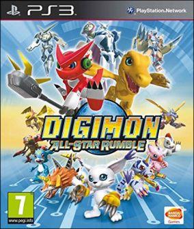 Copertina del gioco Digimon All-Star Rumble per PlayStation 3